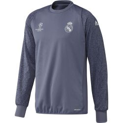 Training top Real Madrid Europe bleu 2016 - 2017