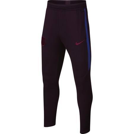 Pantalon survêtement junior FC Barcelone rouge 2019/20