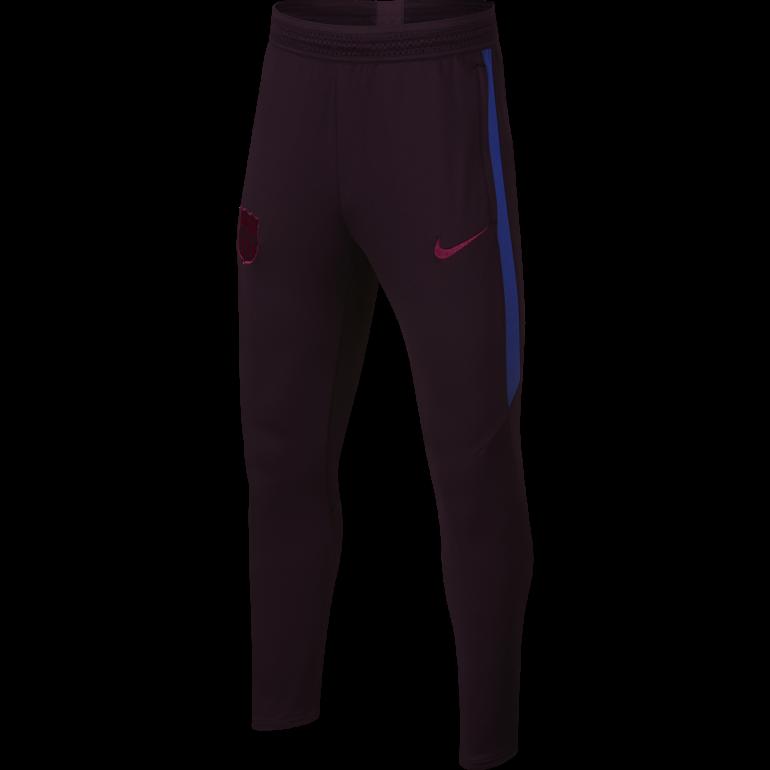 Pantalon survêtement junior FC Barcelone rouge 2019/20