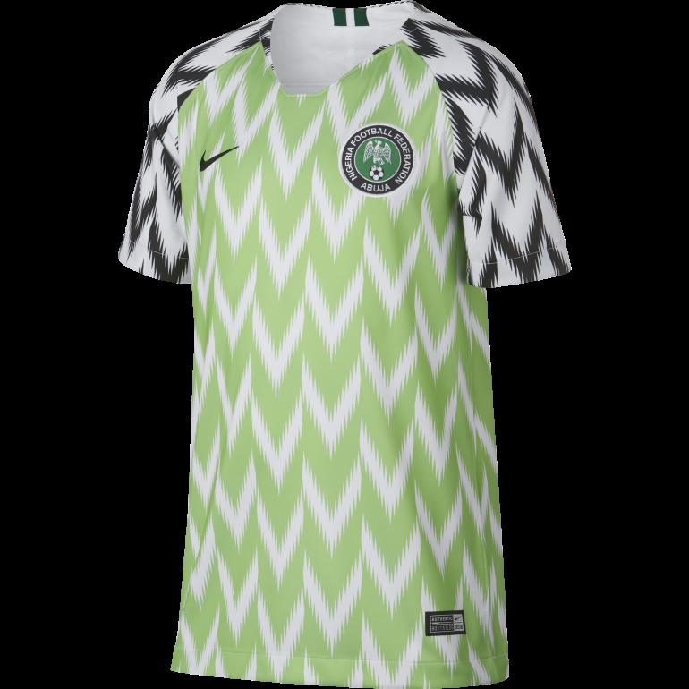 Maillot junior Nigéria domicile 2019