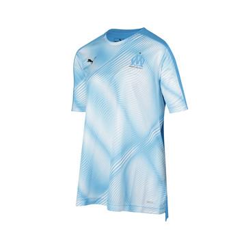 Maillot entraînement junior OM graphic bleu 2019/20