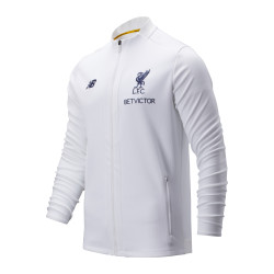 Veste survêtement Liverpool Elite blanc 2019/20