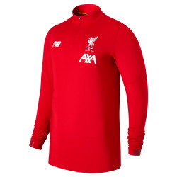 Sweat zippé Liverpool rouge 2019/20