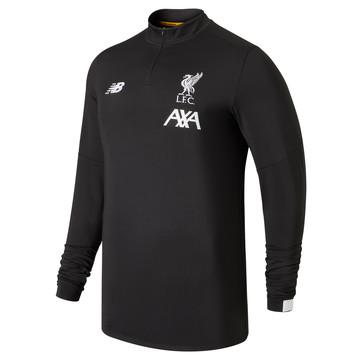 Sweat zippé Liverpool noir 2019/20