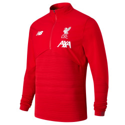 Sweat zippé Liverpool Elite rouge 2019/20