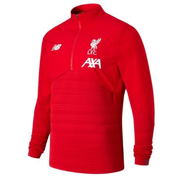 Sweat zippé Liverpool Elite rouge 2019/20