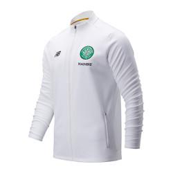 Veste survêtement Celtic Glasgow blanc 2019/20