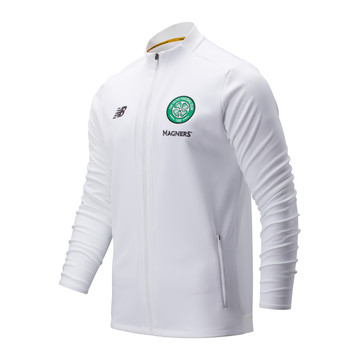 Veste survêtement Celtic Glasgow blanc 2019/20