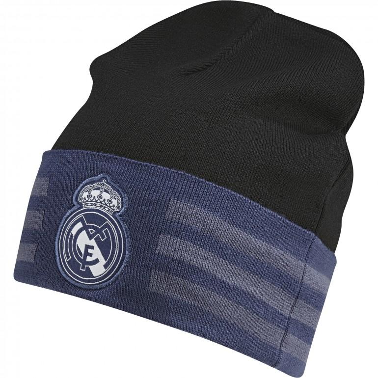 Bonnet Real Madrid 3 bandes noir/bleu 2016 - 2017