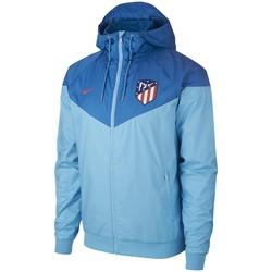 Coupe vent Atlético Madrid bleu 2018/19