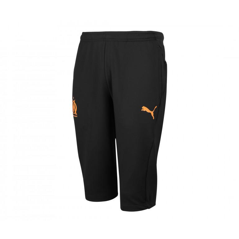 Pantalon entraînement OM 3/4 noir orange 2019/20