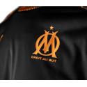 Sweat entraînement OM noir orange 2019/20
