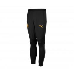 Pantalon entraînement OM noir orange 2019/20