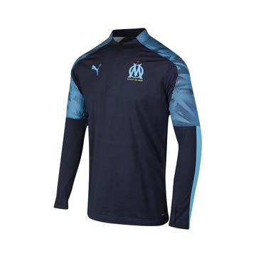 Sweat zippé OM bleu 2019/20