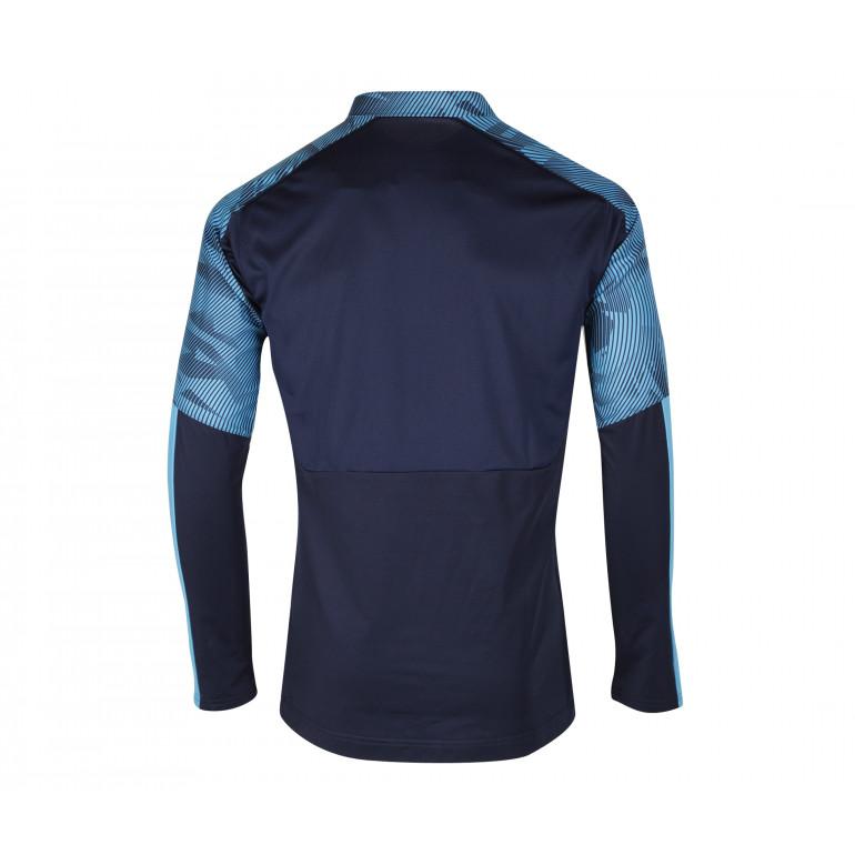 56661cad7c94b Sweat zippé OM bleu 2019/20