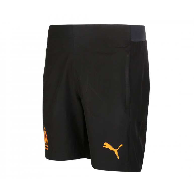 Short entraînement OM micro fibre noir orange 2019/20