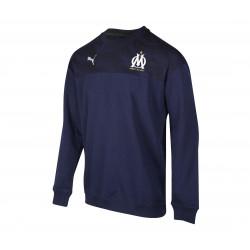 Sweat OM molleton bleu foncé 2019/20