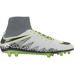 Men's Nike HyperVenom Phatal II Dynamic Fit (FG) Firm-Ground Football Boot BLACK OR GREY