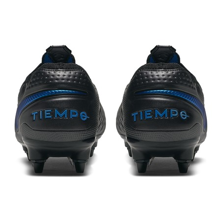 Tiempo Legend 8 Elite Anti-Clog SG-PRO noir bleu
