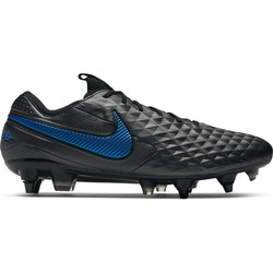 Tiempo Legend 8 Elite Anti-Clog SG-PRO noir bleu