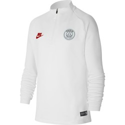 Sweat zippé junior PSG blanc 2019/20