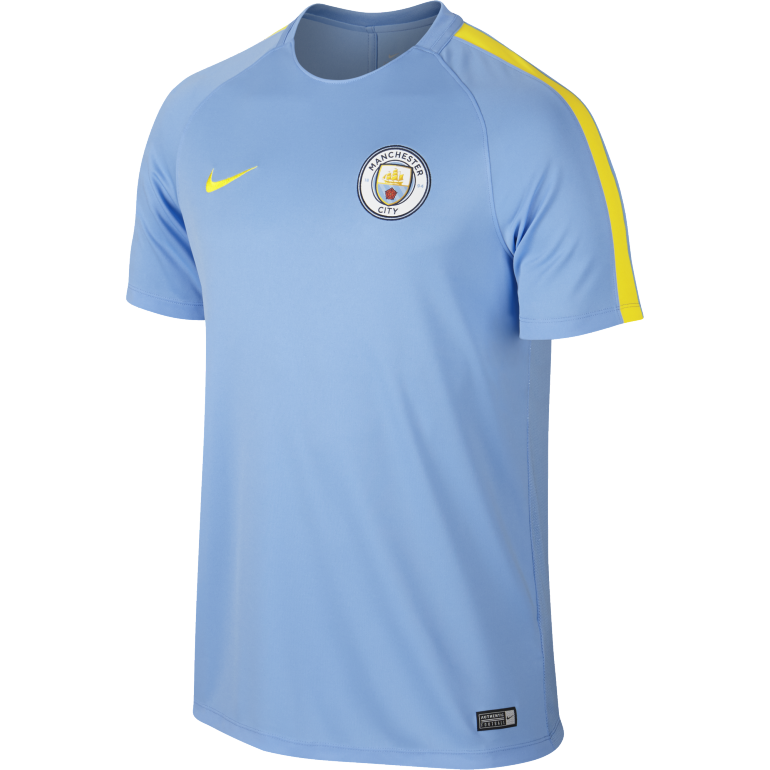 Men's Nike Dry Manchester City FC Top BLUE
