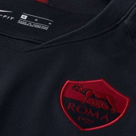 Maillot entraînement AS Roma noir rouge 2019/20