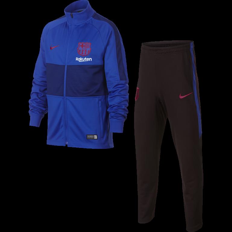 Ensemble survêtement junior FC Barcelone bleu 2019/20