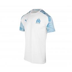 Maillot entraînement OM blanc bleu 2019/20