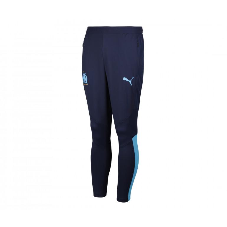 Pantalon entraînement OM bleu 2019/20
