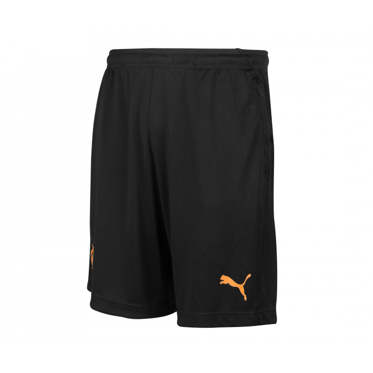 Short entraînement OM noir orange 2019/20