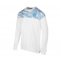 Sweat OM Casual blanc bleu 2019/20