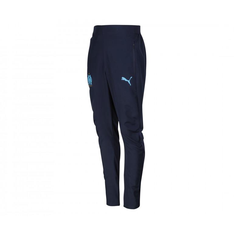 Pantalon survêtement OM micro fibre bleu foncé 2019/20