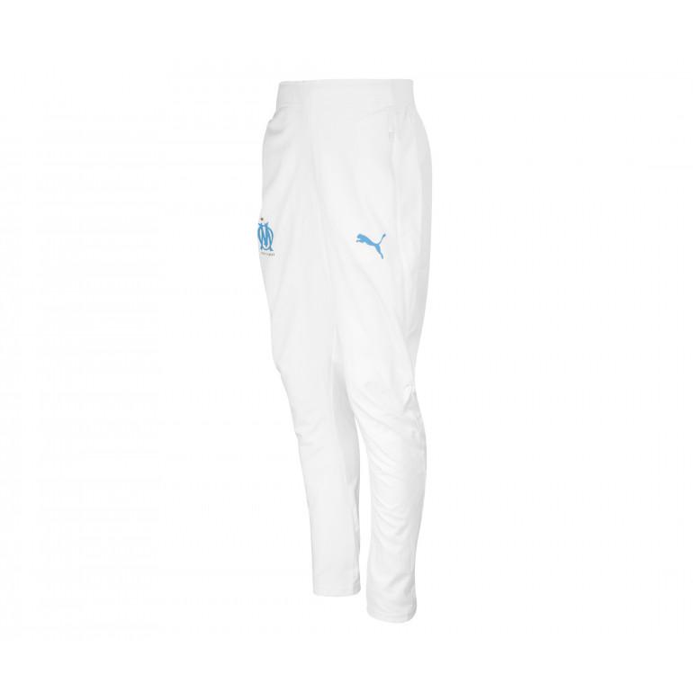 catch cute cheap detailed look Pantalon survêtement OM micro fibre blanc 2019/20