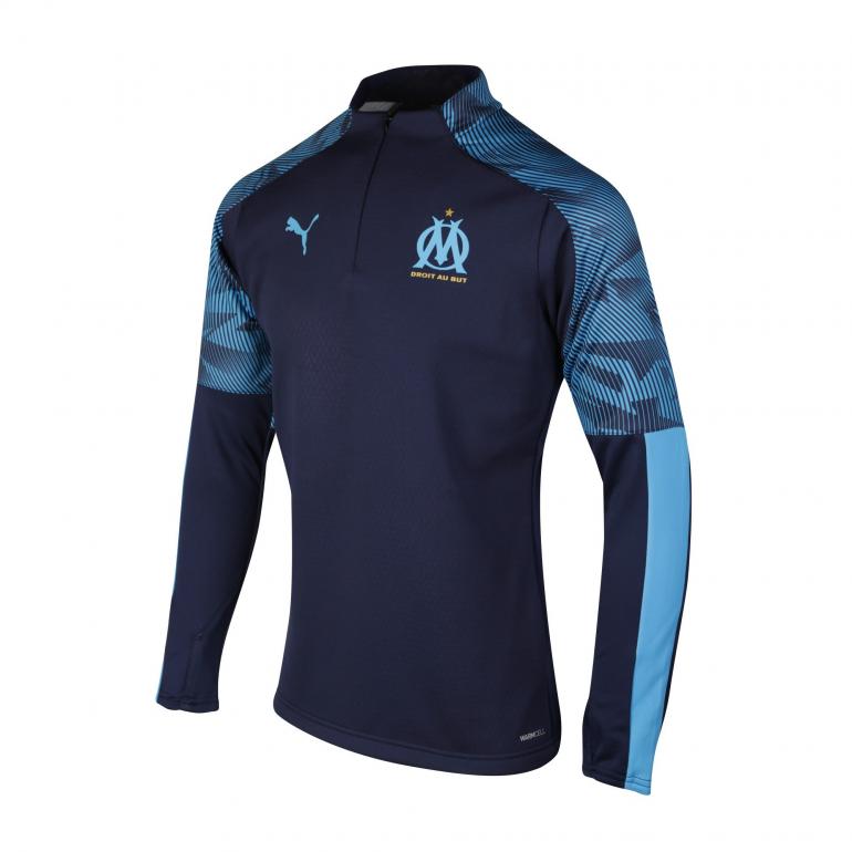 4698d26564a0d Sweat zippé OM Fleece bleu foncé 2019/20