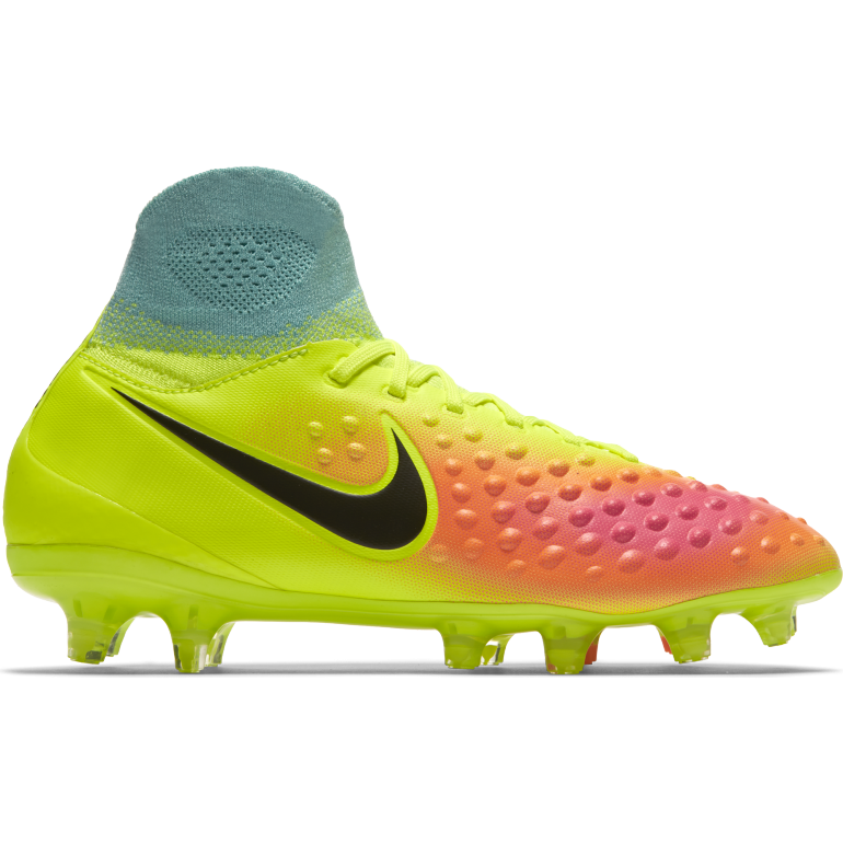 Kids' Nike Jr. Magista Obra II (FG) Firm-Ground Football Boot YELLOW
