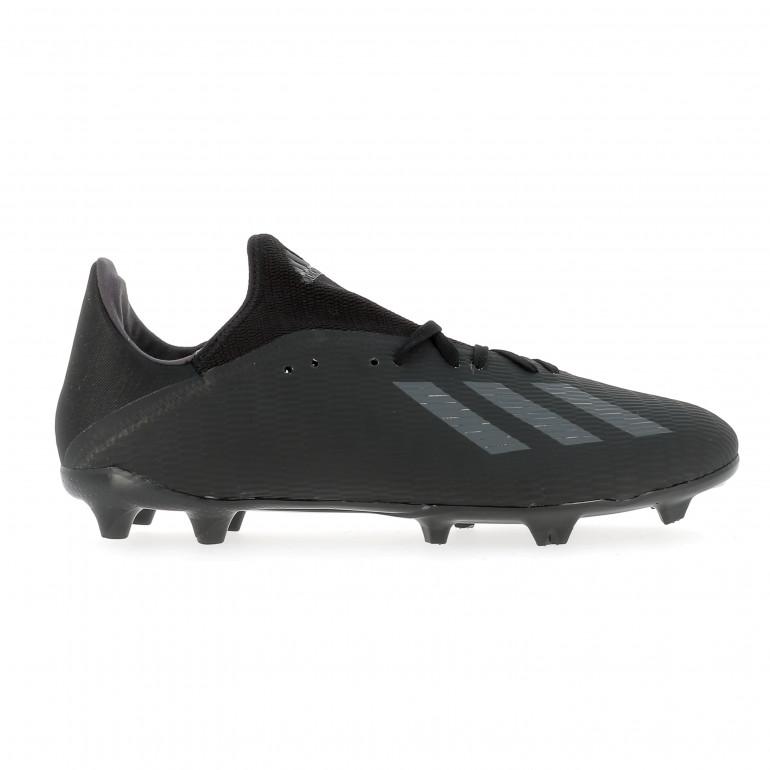 adidas X 18.2 FG Bleu Football Jaune Noir