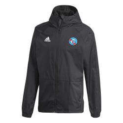 Veste imperméable RC Strasbourg noir 2019/20
