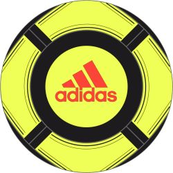 Ballon ACE GLID II jaune adidas