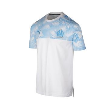 T-shirt junior OM casual bleu blanc 2019/20