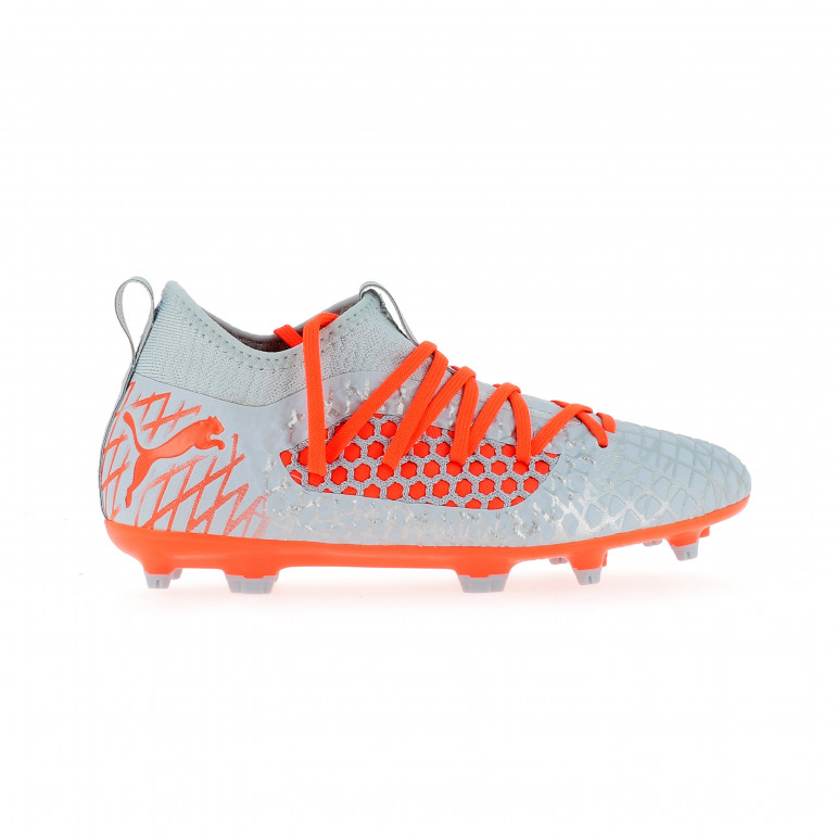 Future 4.3 junior Netfit FG gris orange