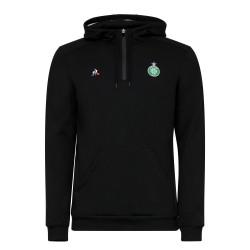Sweat zippé capuche ASSE noir 2019/20