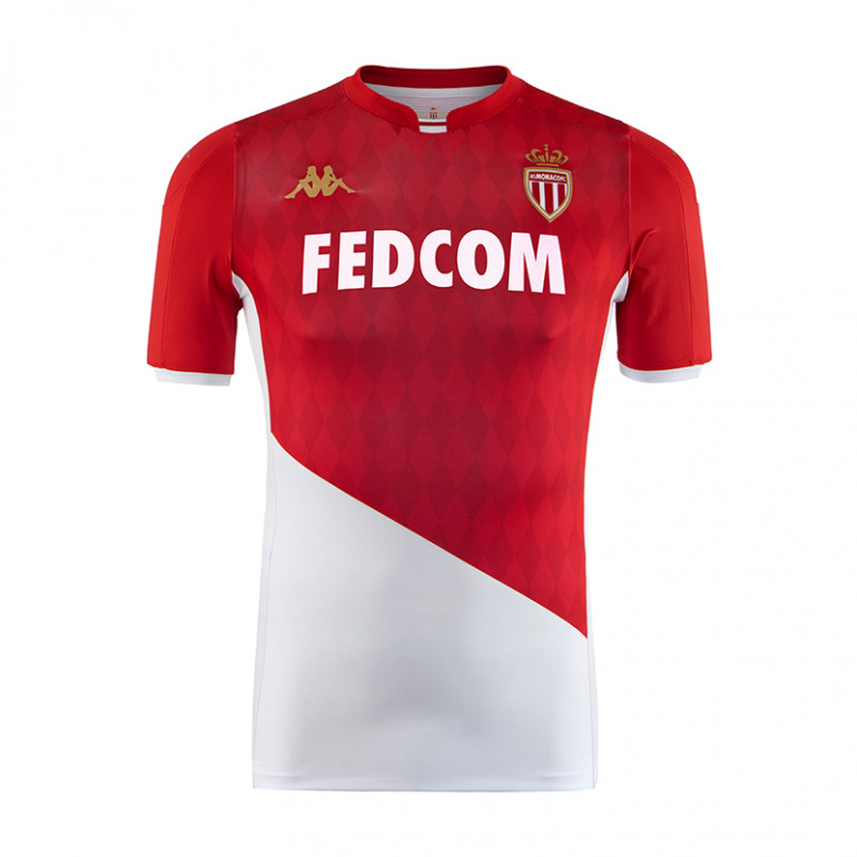 Maillot AS Monaco domicile Authentique 2019/20