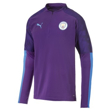 Sweat zippé Manchester City violet 2019/20N