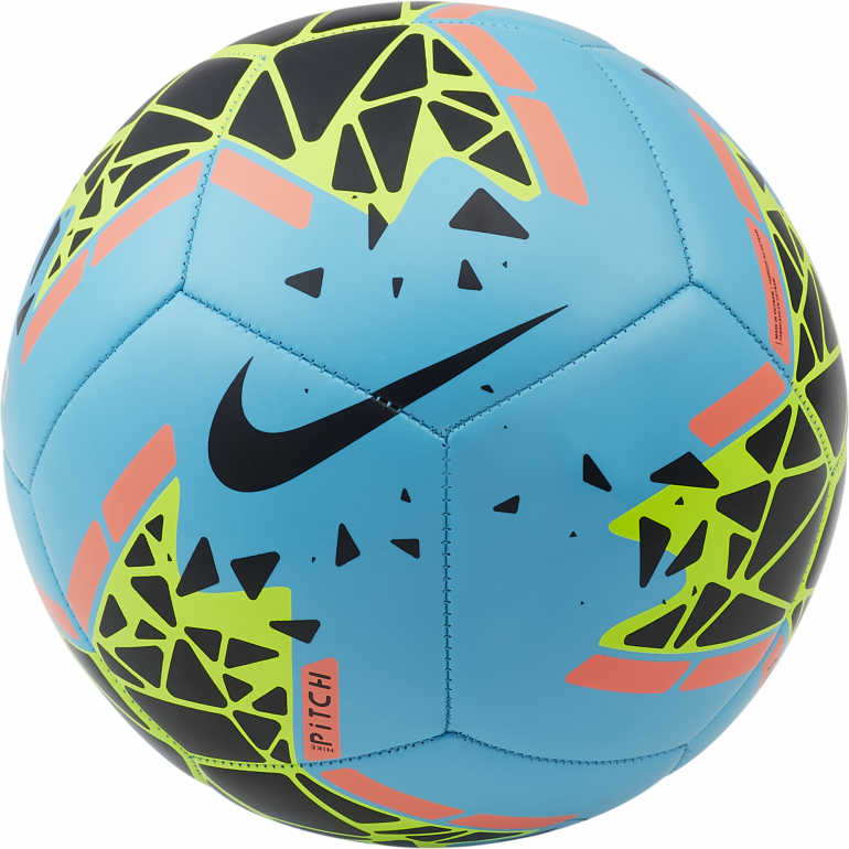 Ballon Nike Pitch bleu 2019/20