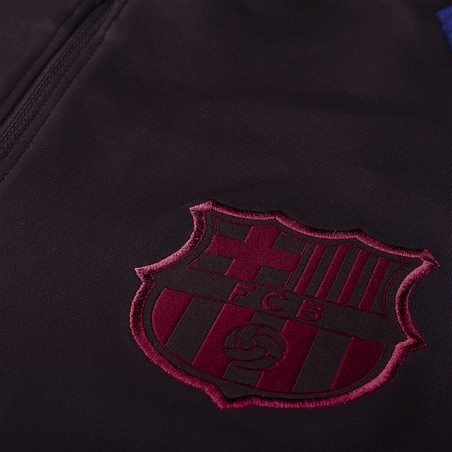 Sweat zippé FC Barcelone rouge bleu 2019/20