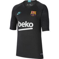 Maillot entraînement junior FC Barcelone gris bleu 2019/20
