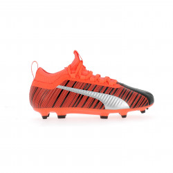 Puma One 5.3 junior FG/AG noir orange