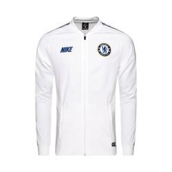 Veste survêtement Chelsea Squad blanc bleu 2018/19