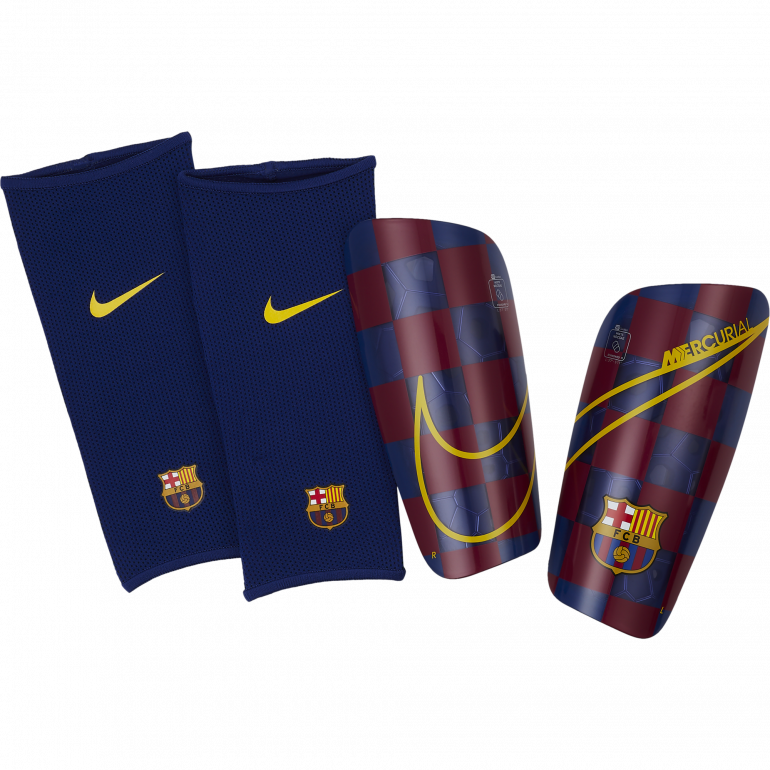 Protège tibias FC Barcelone bleu 2019/20
